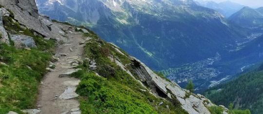 Randonnées dans les Alpes françaises proche de Megève